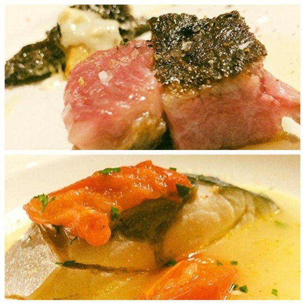 この日はその「サカエヤ」新保さんも参加してのディナー肉焼きの上手な人は魚もすごいのだろうか……