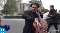 L'hommage en musique du violoncelliste Gautier Capuçon à Notre-Dame de