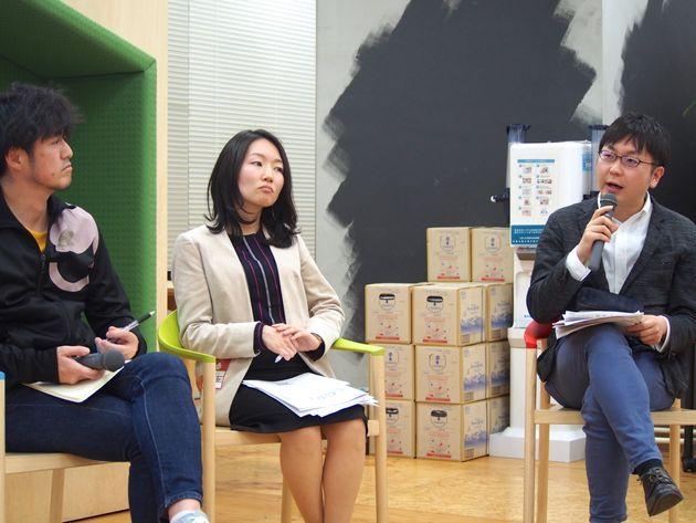 イベントはYahoo!Japanの「LODGE」で開催された。