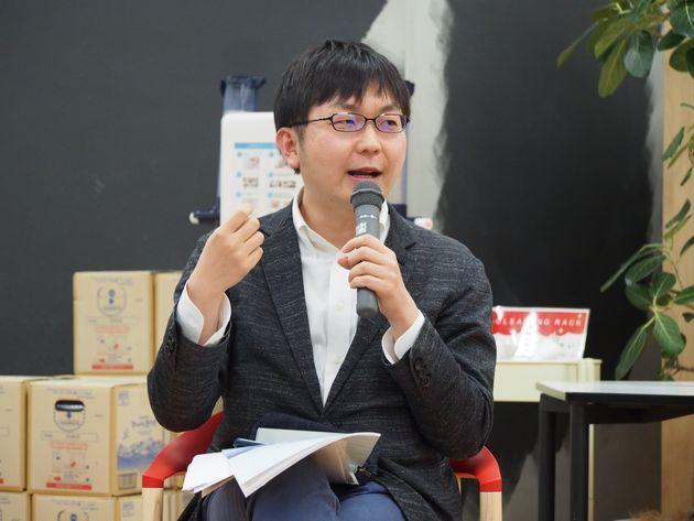 LGBT法連合会事務局長の神谷悠一さん