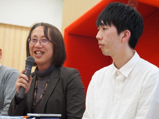 金沢大学准教授の岩本健良さんは、パネルディスカッションの冒頭でLGBTに関する報道の変遷を振り返った。