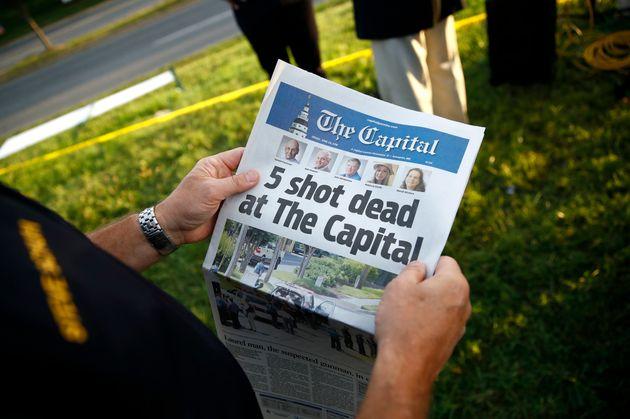 Βραβεία Πούλιτζερ: Εφημερίδα βραβεύτηκε για την κάλυψη της δολοφονίας συντακτών