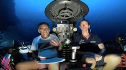Seychelles President Goes 400 Feet Below Indian Ocean Surface To Deliver Climate Change