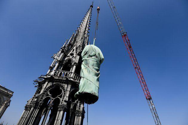 Los tesoros salvados y perdidos en el incendio de la catedral de Notre