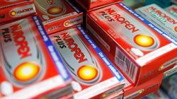 Le prix du Nurofen et autres médicaments sans ordonnance