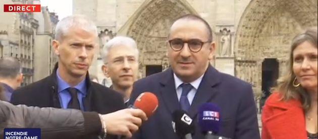 Laurent Nuñez s'est exprimé ce 16 avril en milieu de journée, pour faire un état...