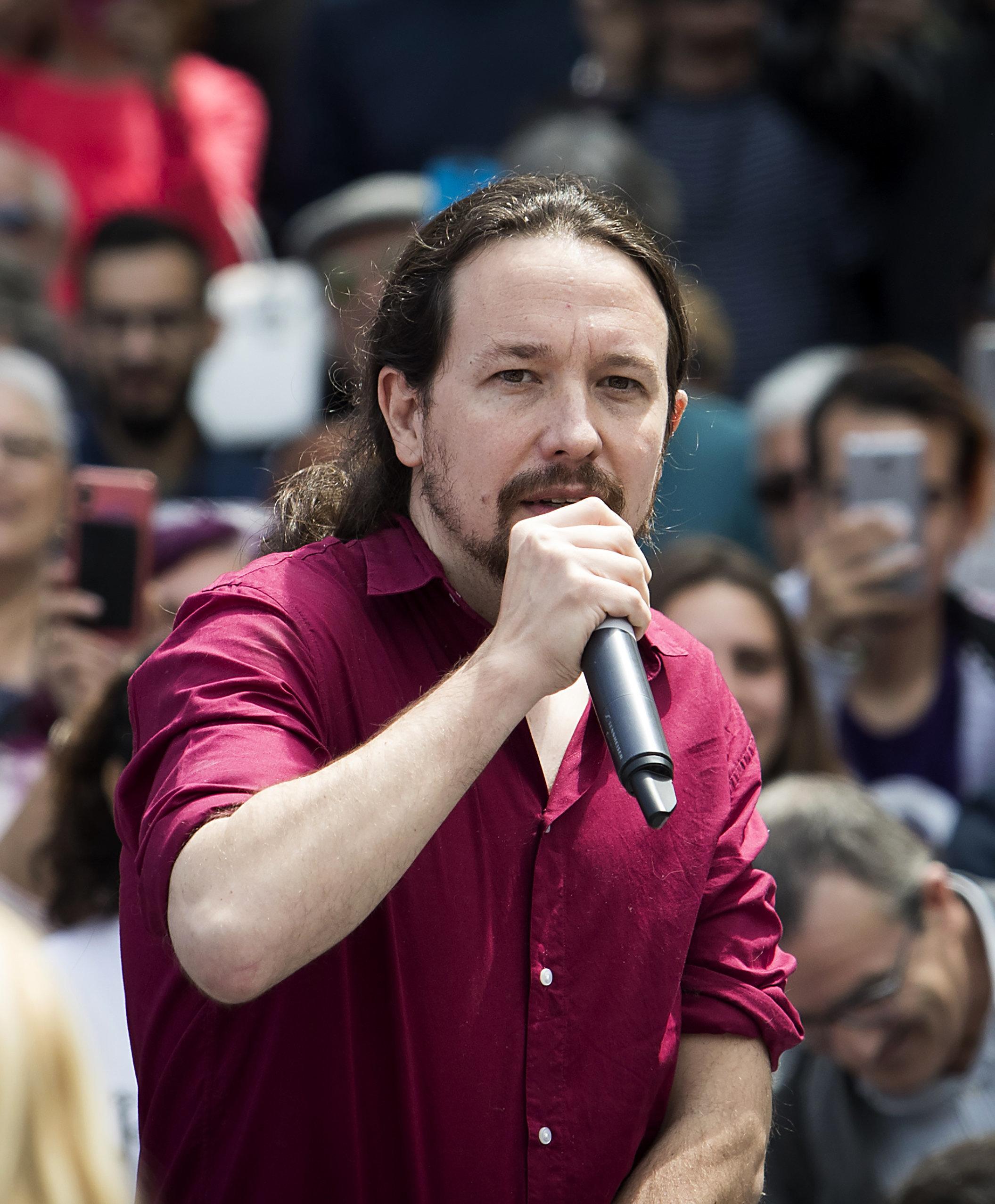 La aplaudida contestación de Pablo Iglesias cuando le gritan