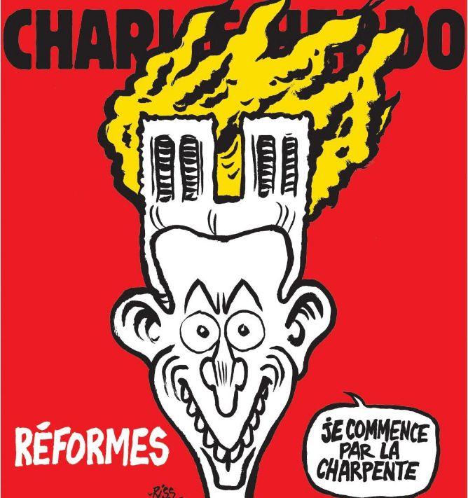 Παναγία των Παρισίων: Αντιδράσεις για το αμφιλεγόμενο εξώφυλλο του Charlie