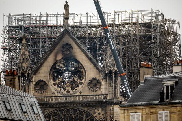 L'enquête sur l'incendie de Notre-Dame de Paris écarte a priori la piste