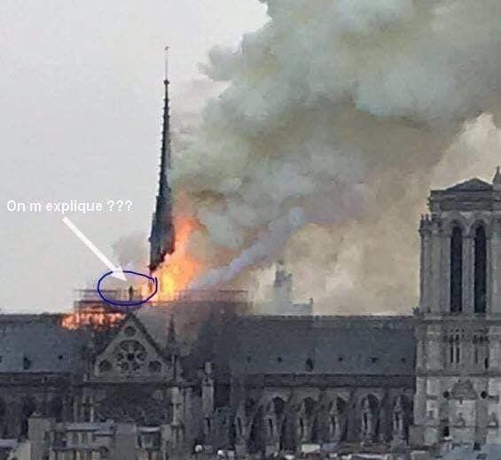 Notre-Dame de Paris: cette silhouette n'est pas à l'origine de