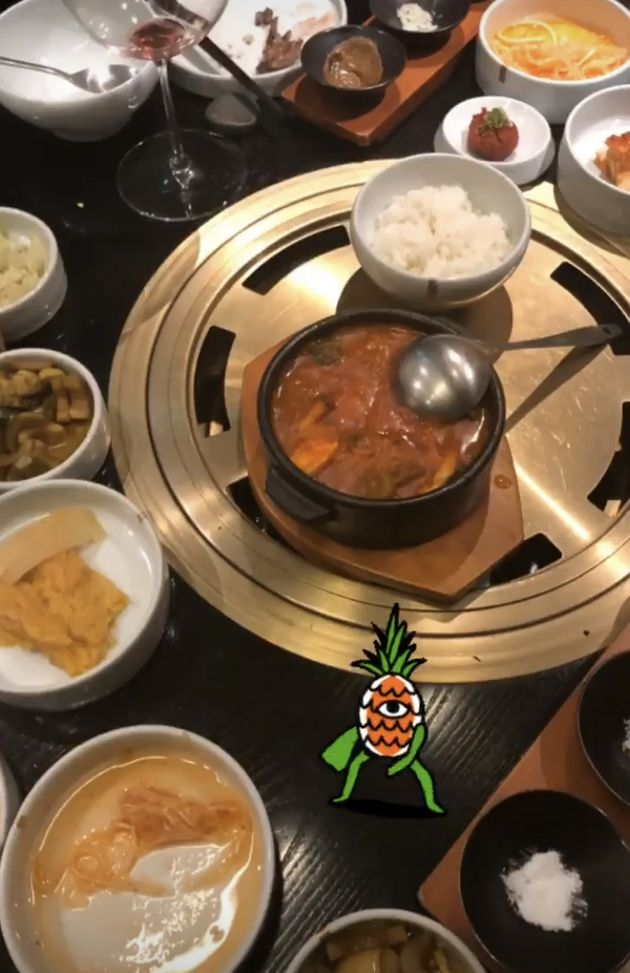 '캡틴 마블' 브리 라슨은 한국에서 '먹방'을 제대로