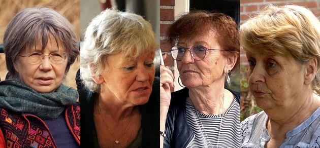 Anneme, Jeanny, Anita y Joke, varias de las víctimas del Buen Pastor entrevistadas por