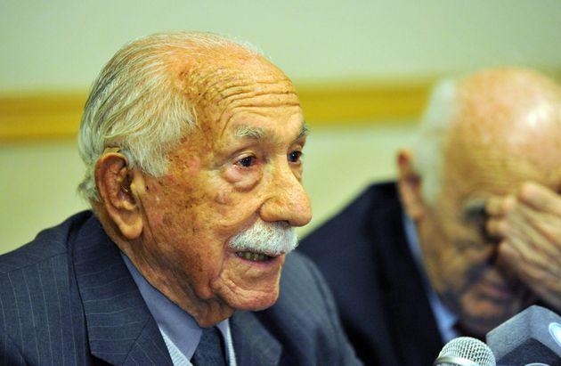 Darío Rivas, durante una rueda de prensa en Buenos Aires, en