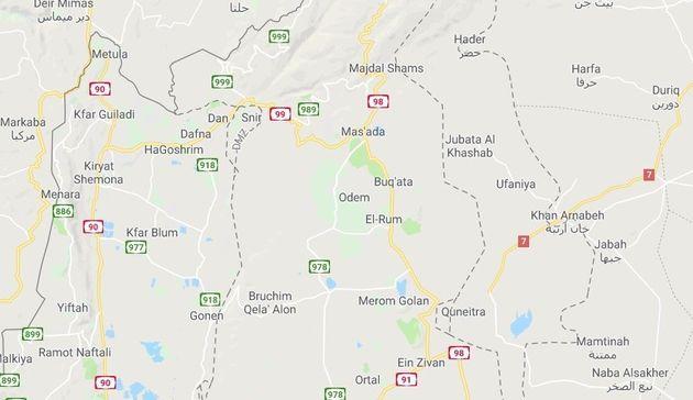 Mapa de los Altos del