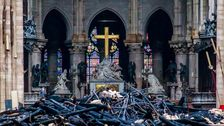 France's Macron Pledges To Restore Notre Dame Within 5 Years