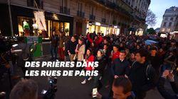 Une veillée de prière dans les rues de Paris après l'incendie de