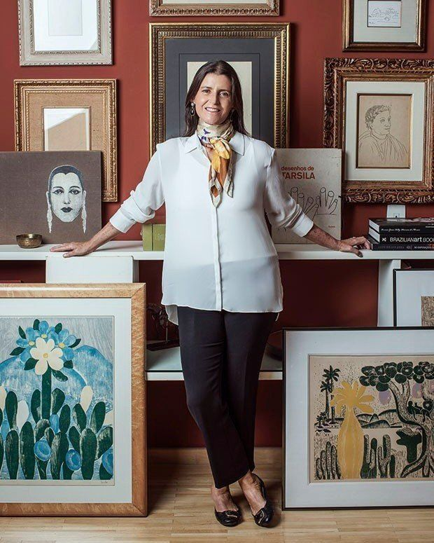 Tarsilinha do Amaral: 'Minha tia sempre quis ser a pintora do Brasil. E