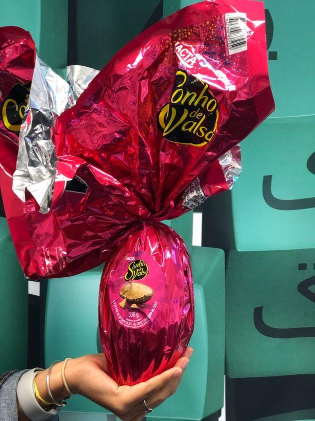Um ovo de chocolate Sonho de Valsa ainda tem seu