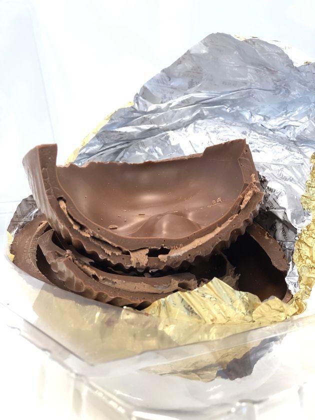 Chocolate derrete na boca, o que é característico da