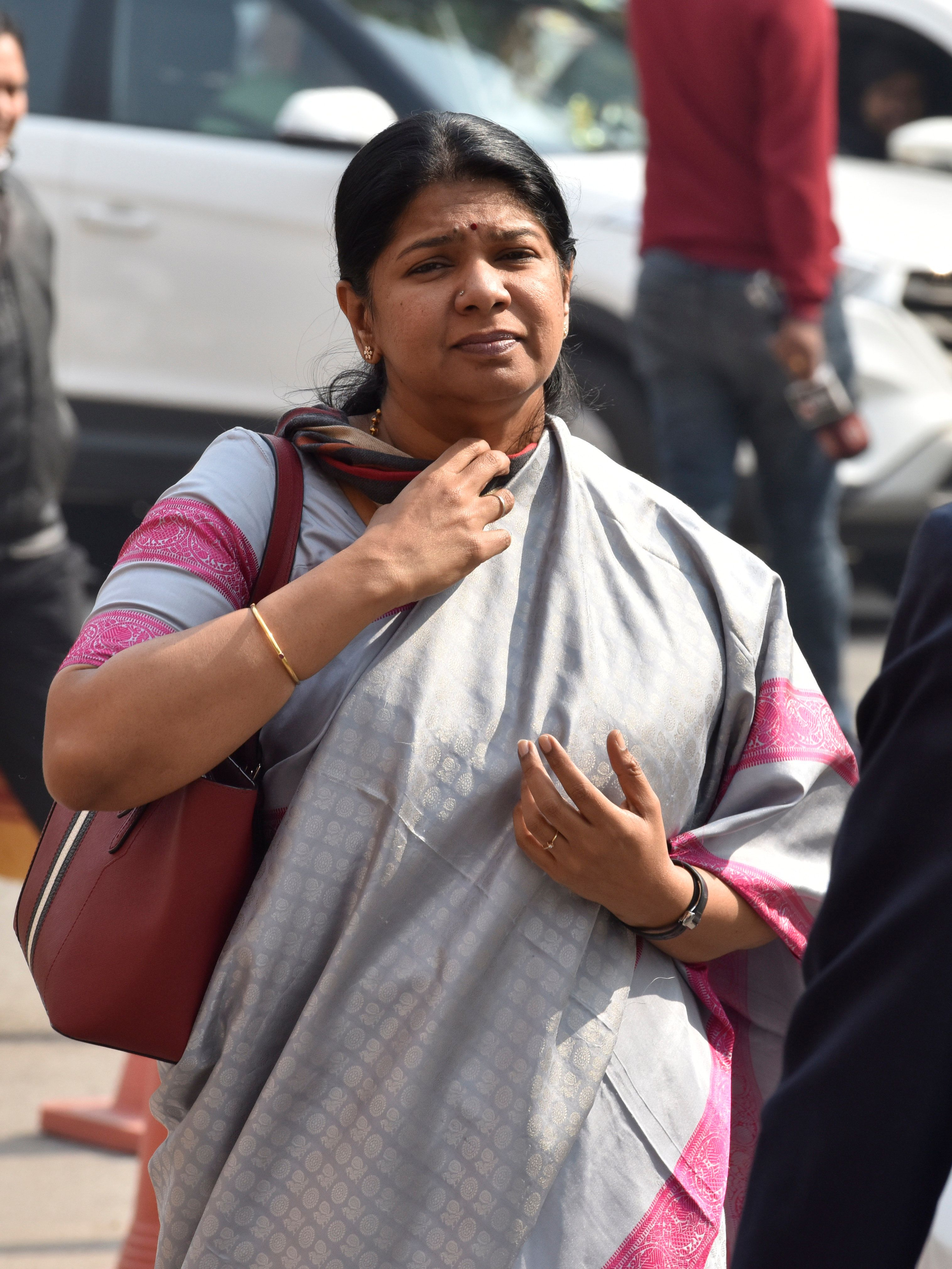 Raid At Kanimozhi's House In Tuticorin Yields Nothing, DMK Hits Out At