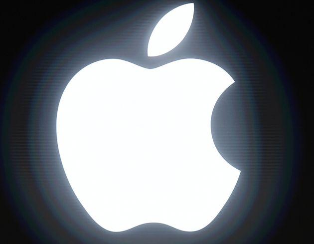 アップル社のロゴ
