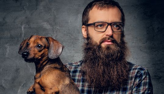 Men With Beards Have More Germs Than Dogs: