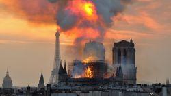 노트르담 대성당 화재를 둘러싼 근거 없는 음모론이 퍼지고