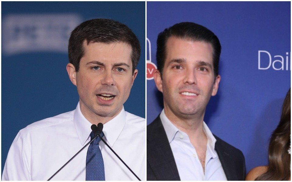 Pete B and Donald Trump Jr.
