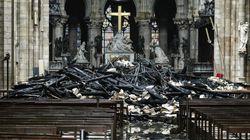 El milagroso hallazgo entre los escombros de Notre