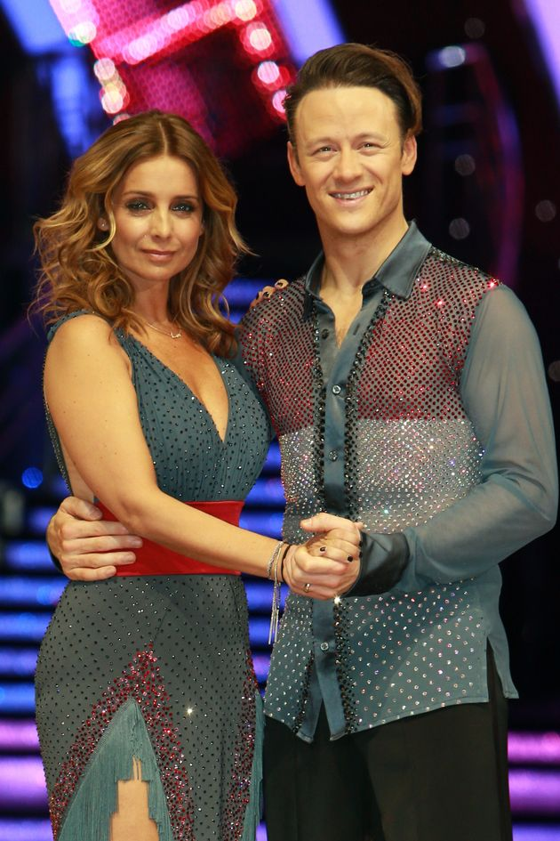 After making it to the Strictly final, Louise and Kevin took part in the tour
