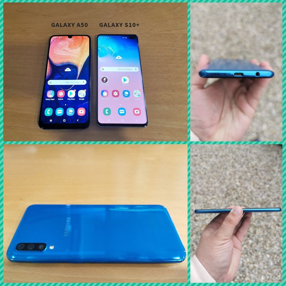 Les trois capteurs photo du Samsung Galaxy A50 font la paire
