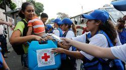 El primer lote de ayuda humanitaria llega a