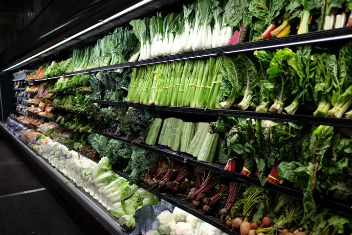 We are used to seeing aisles of perfect fruit and vegetables in grocery stores.