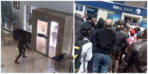 Tanger: Arrestation d'un individu en flagrant délit de braquage d'une agence
