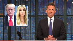 Seth Meyers Jabs At Trump For Calling Ivanka 'Baby' In