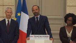 Philippe annonce une loi et un coup de pouce fiscal pour reconstruire