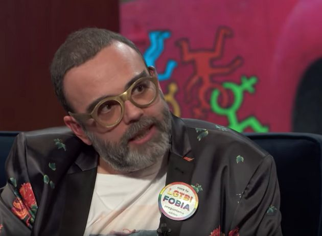 Bob Pop, en un momento del programa 'Late