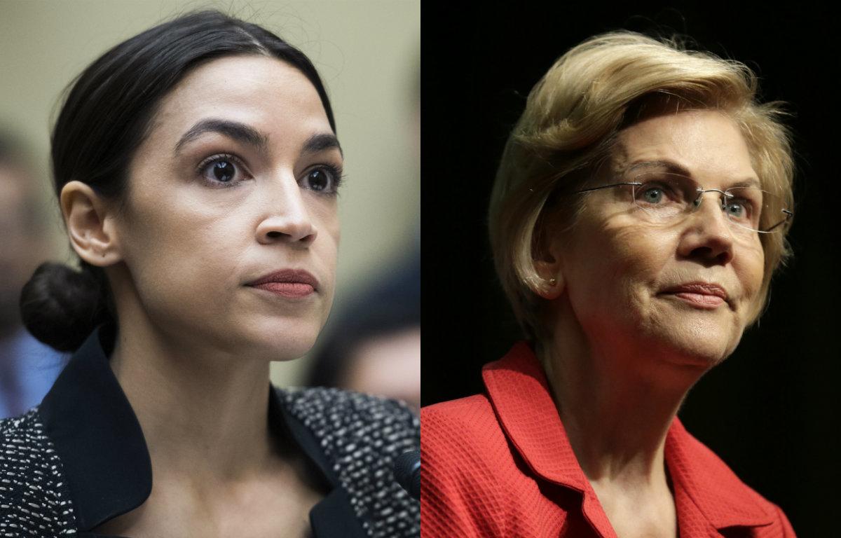 Elizabeth Warren On Alexandria Ocasio-Cortez's Commitment To People Over