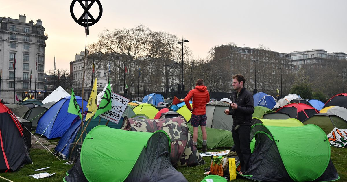 How Extinction Rebellion Organised A Protest That Brought