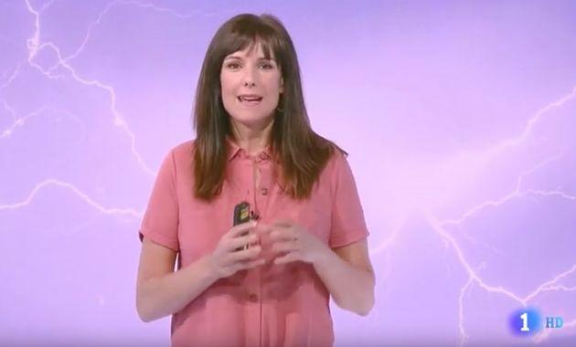 Mónica López, mujer del tiempo de TVE, explota: