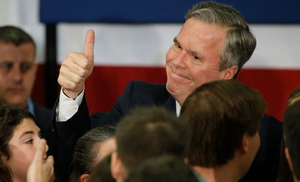 Remember Jeb Bush? He was supposed to be super electable!