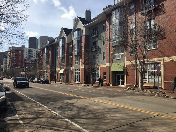 Uptown Square, an apartment complex in downtown Denver, is participating in the LIVE Denver program. The program targets reno