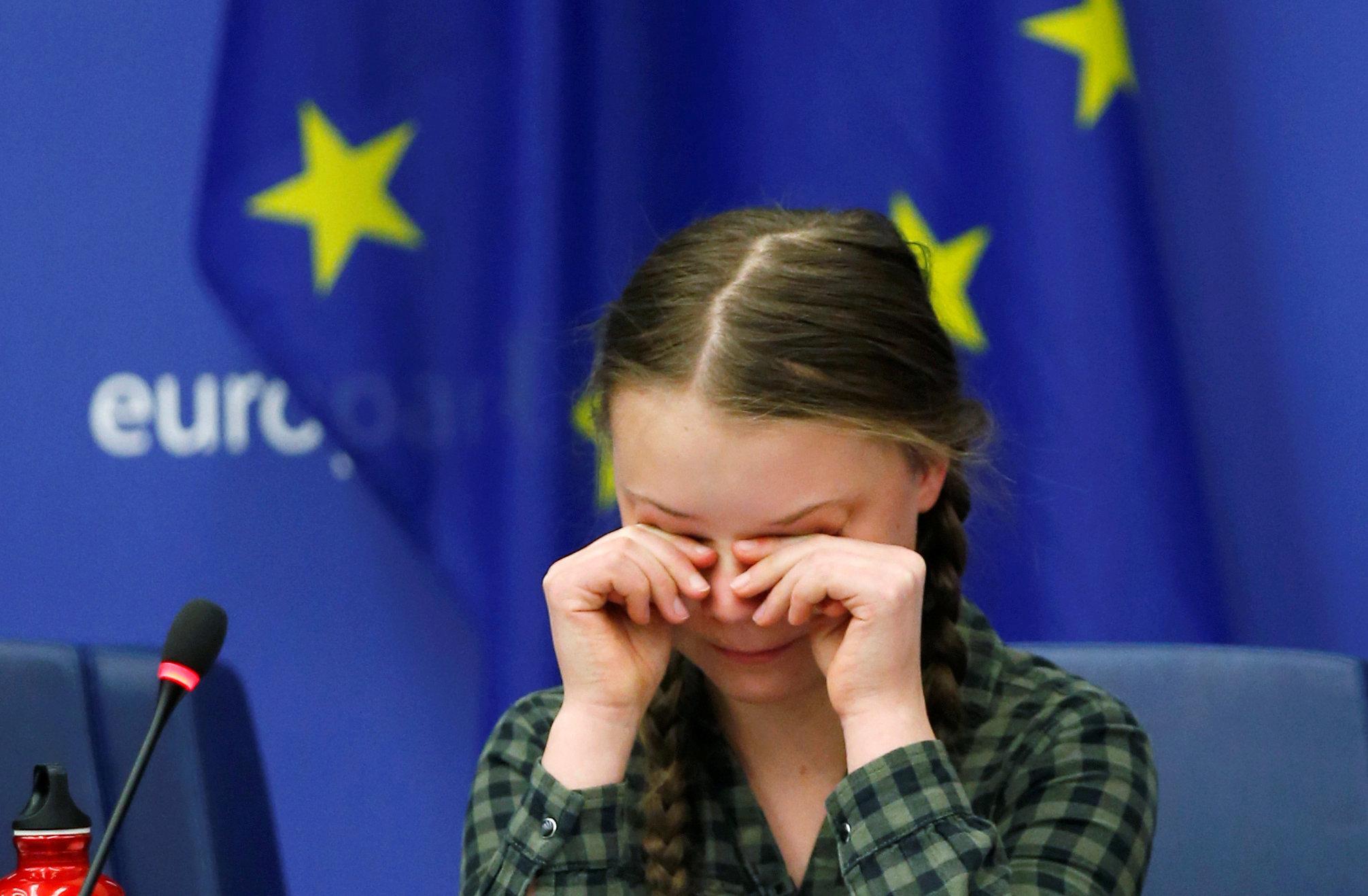 Greta Thunberg appelle l'Europe à sauver le climat comme elle le fait pour