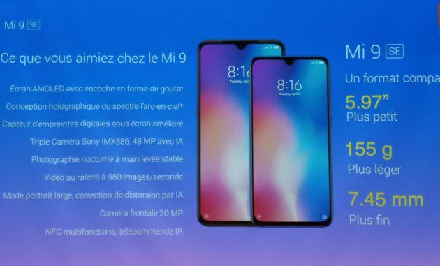 Le Xiaomi Mi 9 SE reprend les mêmes caractéristiques de base que le Mi 9