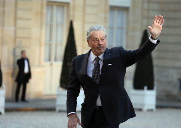 Alain Delon, Palme d'or d'honneur au festival de