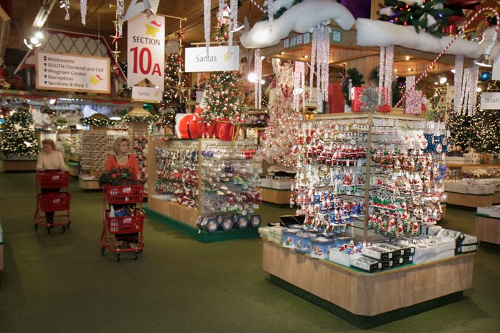 "Frankenmuth, Michigan, is home to Bronner's Christmas Wonderland, which claims to be the ""world's largest Christmas store."""