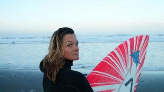 Big Wave surfer Bianca Valenti has led the fight for gender equity in the sport
