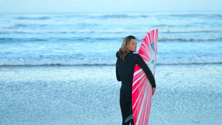 Valenti teamed up with other surfers to create the Committee for Equity In Women's Surfing.