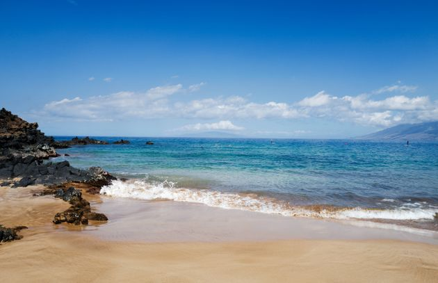 Wailea Beach is just one of the many sunny and sandy spots on the Hawaiian island of