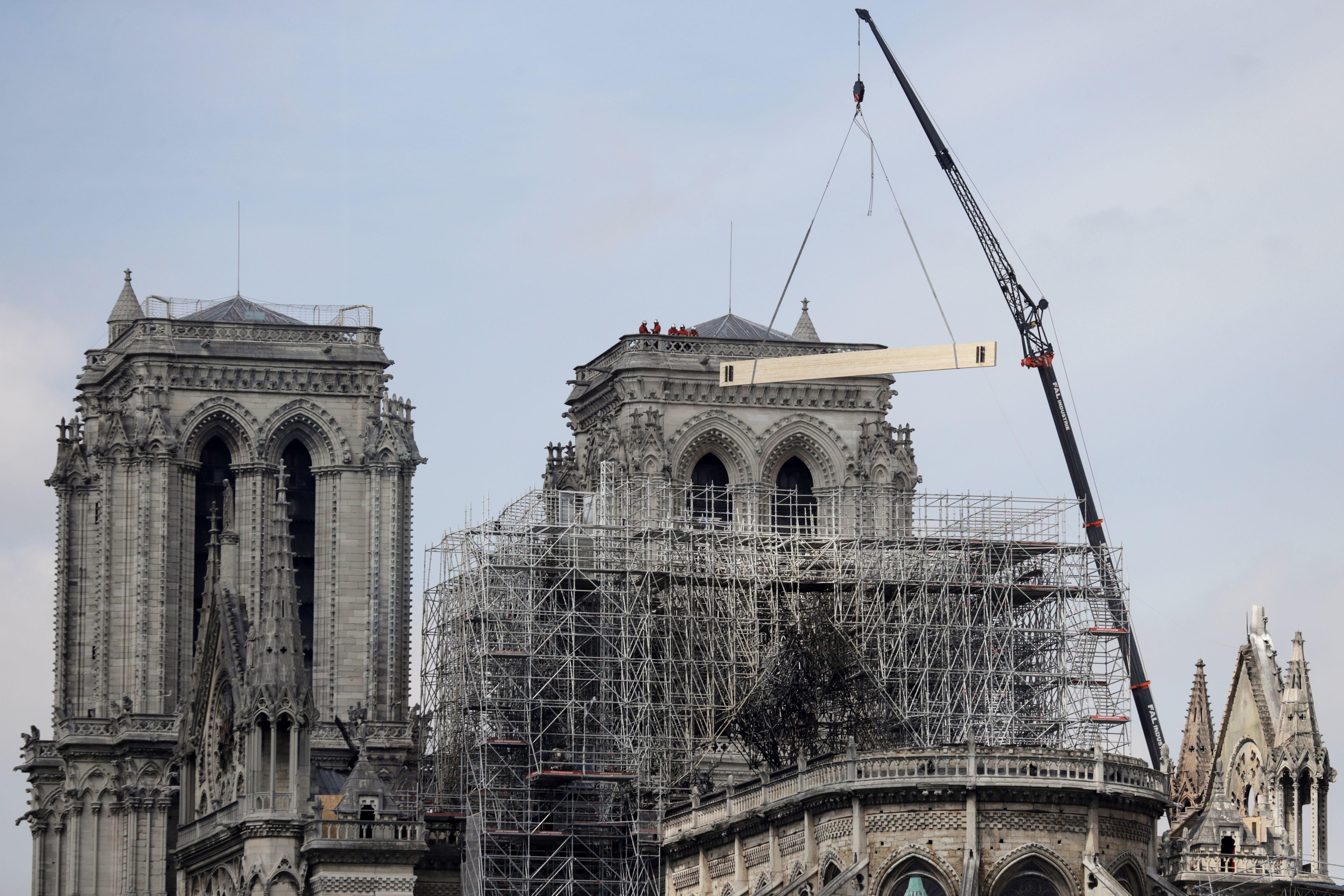 Walt Disney donará cinco millones de dólares para reconstruir Notre
